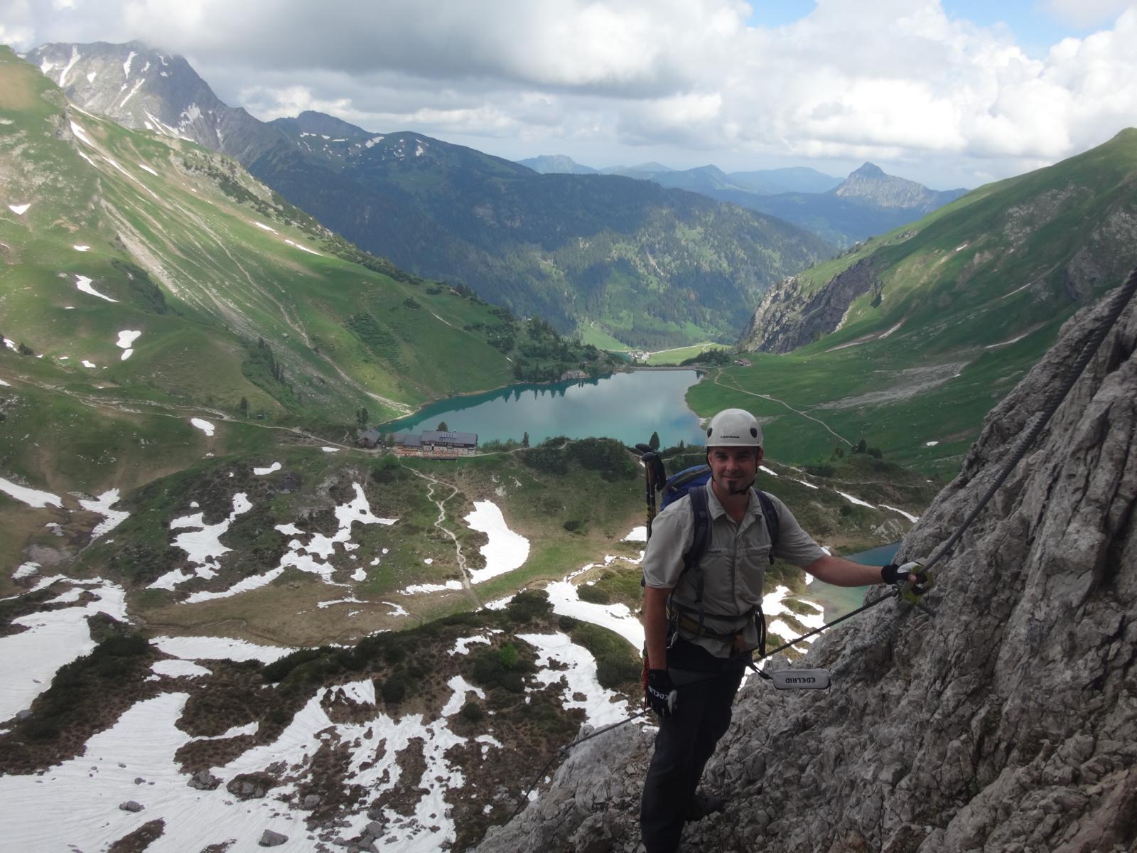 Klettersteig Lachenspitze : Klettersteig lachenspitze 2126 m schochenspitze 2069